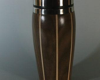 Walnut and Maple Travel Mug