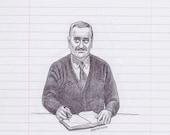 Mr. Belvedere Print...
