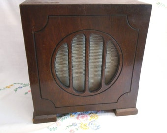 1930'S Radio Extension Speaker - Untried & Untested - Great Looking Display Piece