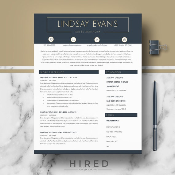 professional resume templates modern resume cv template for