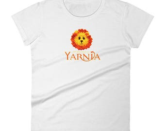 Chronicles of Yarnia: Fun Novelty Shirt For Knitters, Crocheters & Lovers of Yarn