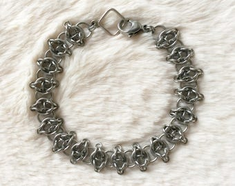 Celtic Visions Stainless Steel Bracelet