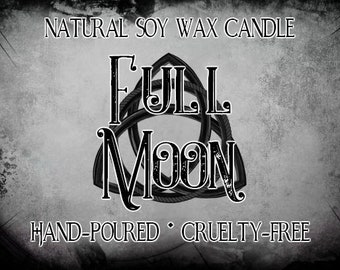 Full Moon Soy Candle