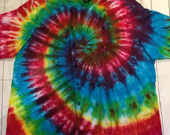 Tie dyed chef coat made to order