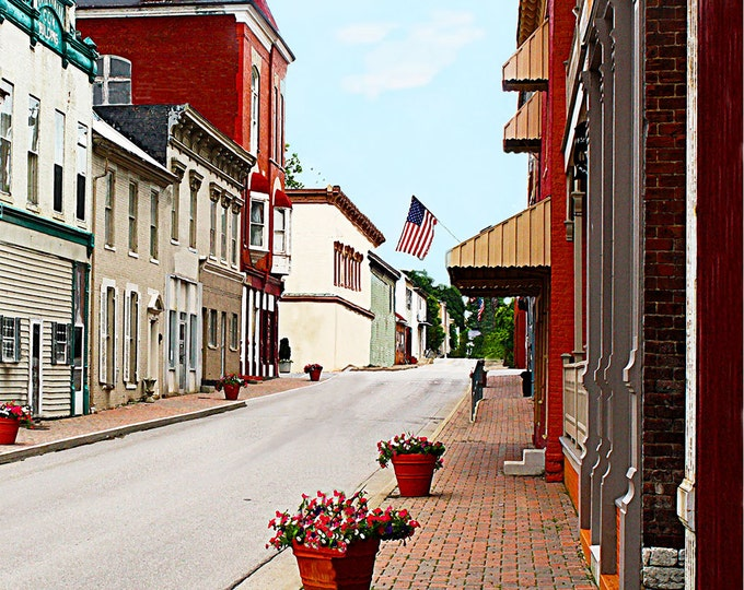 Kentucky, Flemingsburg, Giclee Print on Fine Art Paper or Canvas