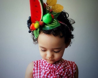 Watermelon Grapes Headband