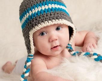 Baby Hats for Boys Crochet Baby Hat Newborn Baby Hat Baby dbaf624563b