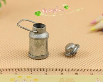 1:12 Scale Dollhouse Miniatures Milk Can /Doll house accessory
