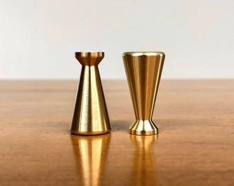 Mid Century | McCobb Brass Hardware | Dresser Cabinet pulls knob