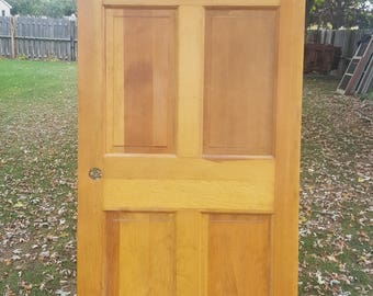 Old Wood Door Interior Door Building Supply Architectural Salvage Farmhouse Cottage & Old Wood Door Interior Door Building Supply Architectural