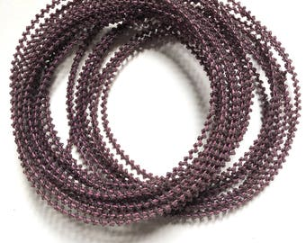 Antique 1900 beaded wire cable. 16 mètres
