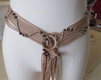 belt Brown cords