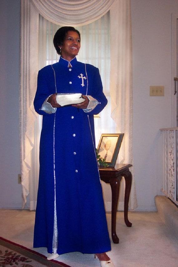 Clergy Gown (Deborah) Outstanding Clergy Vestment For Women, Robes for Women Pastors