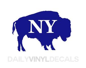 Buffalo Bills Decal Etsy - Custom vinyl decals buffalo ny