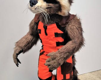 PDF PATTERN Life Size Rocket Raccoon