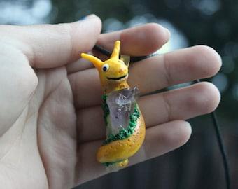 Cheery Banana Sluggin' Necklace
