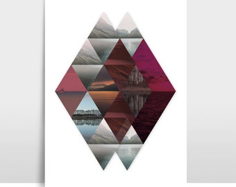 "A3 Artprint ""Horizon"""