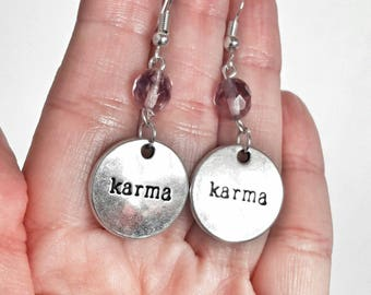Karma Earrings