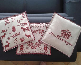 Heating pad with brown rice seeds a gift to yourself or to yourself!