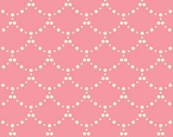 """Emmy Grace Pink Fabric from Art Gallery  """"Ripples Rose"""" by Bari J.  100% premium cotton. EMG-5603"""