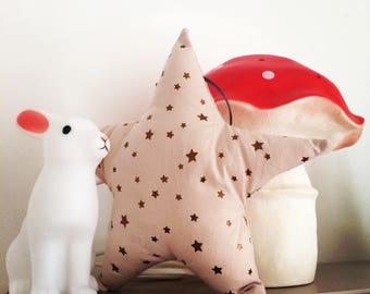"Small decorative cushion for kid's room ""Gaiety"" framework8"