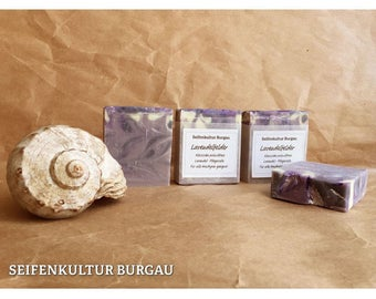 "Aromatic soap ""lavender fields"", palm oil free"