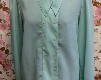 Turquoise blouse by Your 6th Sense - M/L