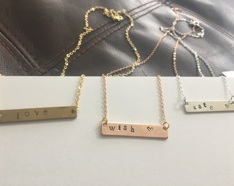 Handmade Necklaces 16K gold, rose gold, or silver