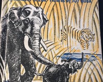 Elephants by Herbert S. Zim vintage 1946 William Morrow & Company hardcover