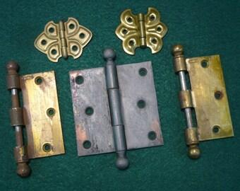 Vintage Hinges-Door Hinges-Cabinet Hinges-Restoration Hardware