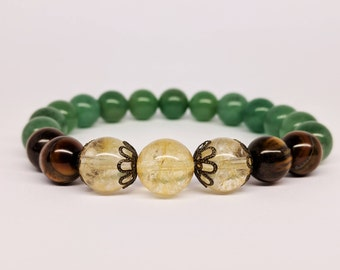 Money Bracelet Prosperity Bracelet Abundance Bracelet Wealth Bracelet Success Bracelet for Women Gift for Her Gift New Job Gift Womens Gift