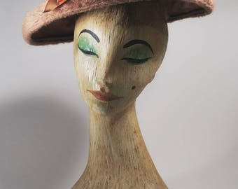 1960s Vintage hat| 60s hat| gift for her