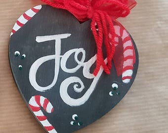 Hand Painted Christmas tree decoration