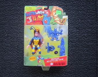 1994 Princess Earth-Worm Jim figure - MOC