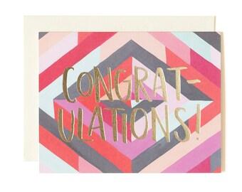 Diamond Congratulations Illustrated Card // 1canoe2