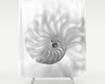 Chambered Nautilus Shower Curtain...