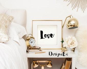 Quote Print - Love