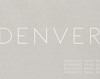 Denver | Sans Serif Font