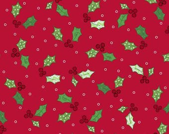 170170 Red Holly & Berries, Jingle All The Way by Kim Christopherson Collection