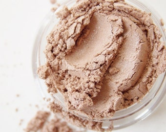 SAMPLE Taupe- All Natural Mineral Eyeshadow (Vegan)