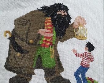 Harry Potter cross stitch