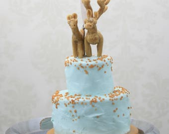 Wedding Cake Mini Replica Custom Ornament - Replica Cake - Wedding Gift - First Anniversary - Newlyweds Gift - Clay Ornament Shop