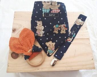 "Birthday gift set ""p"" Lil bear """