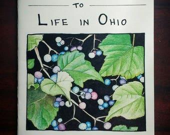 Mini Field Guide to Life in Ohio zine