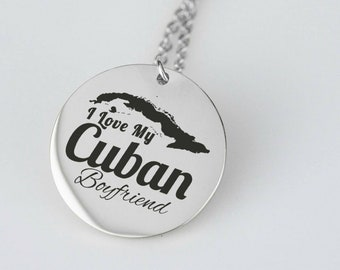 Cuban Product Cuban Chain Necklace, Old Havana Cubano, Cuban Heritage Cuban Chain, Miami Cuban Jewelry, La Gloria Cubana Cuba Necklace
