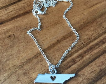 Tenneessee Charm Necklace