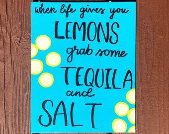 When Life Gives You Lemons Canvas