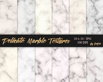 Delicate marble textures, marble digital paper, luxury background, stone textures, marble patterns, granite, download
