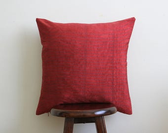 "Zeugma Handwoven Kutnu Cushion - 18"" square - Free shipping USA!"