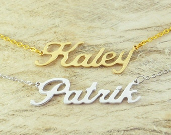 Custom Alloy necklace name necklace special gift for your love unique gift personalized necklace Valentines Gift